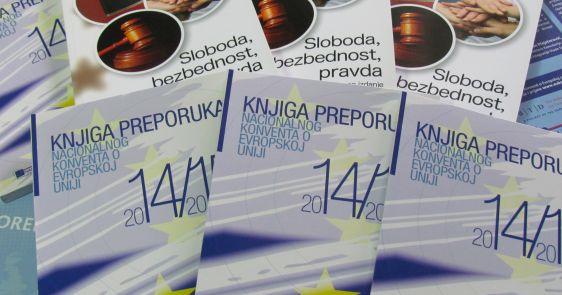 Podrška Nacionalnom konventu o Evropskoj uniji